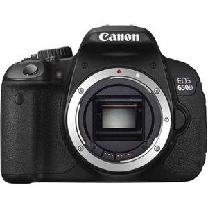 APPAREIL PHOTO RÉFLEX CANON EOS 650D Réflex numérique