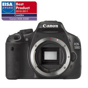 APPAREIL PHOTO RÉFLEX CANON EOS 550D - Reflex numérique - Boîtier nu