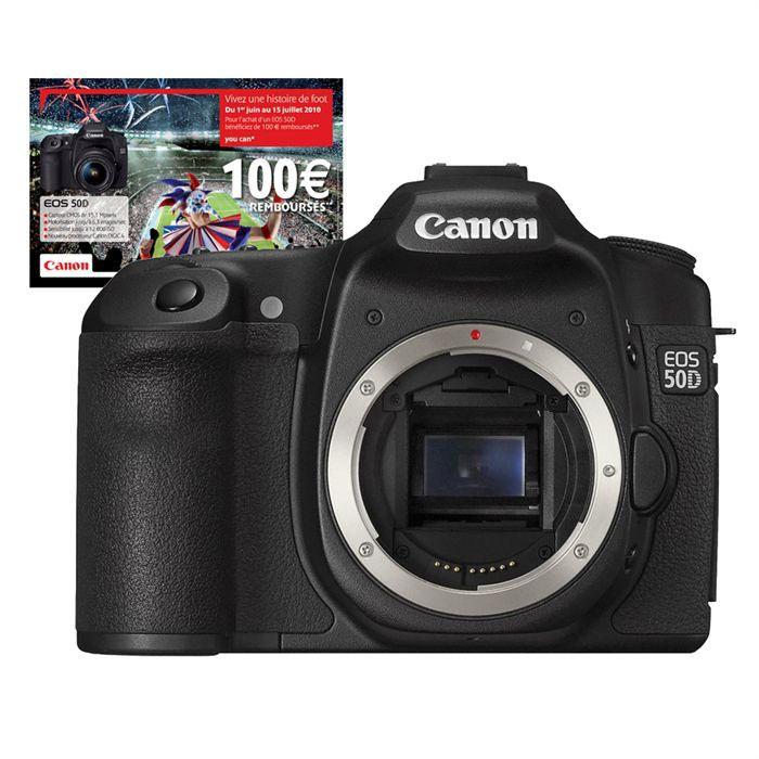 APPAREIL PHOTO RÉFLEX Canon EOS 50D nu*