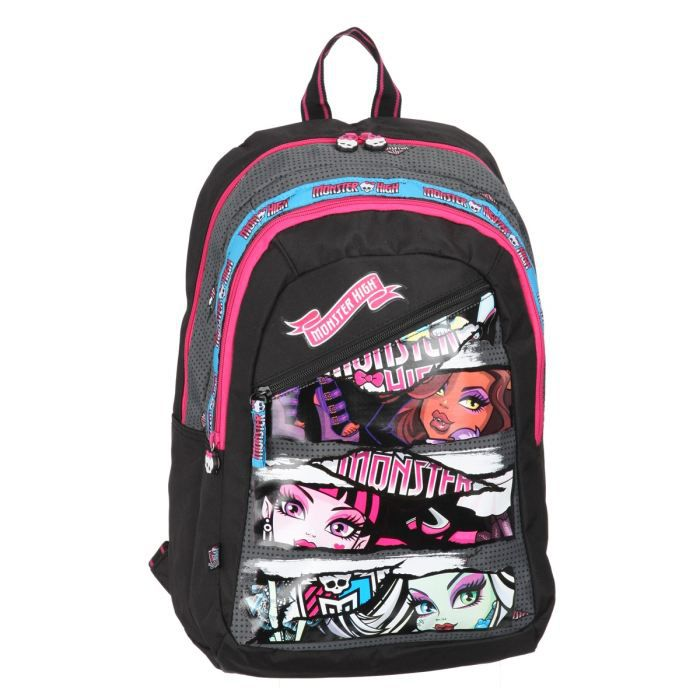 Sac a roulette fille monster high