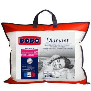OREILLER DODO Oreiller confort moelleux DIAMANT - 50x70 cm