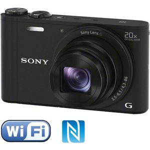 APPAREIL PHOTO COMPACT SONY DSC-WX350 Compact Noir - CMOS 18 MP Zoom 20x