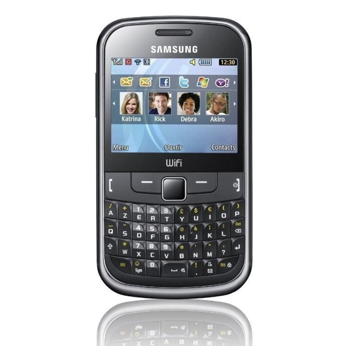 samsung sgh s3350 noir azerty t l phone portable achat. Black Bedroom Furniture Sets. Home Design Ideas