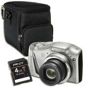 COMPACT CANON SX150 IS Argent + Etui + Carte SD 4Go