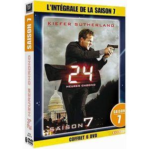 DVD SÉRIE DVD 24 heures chrono, saison 7