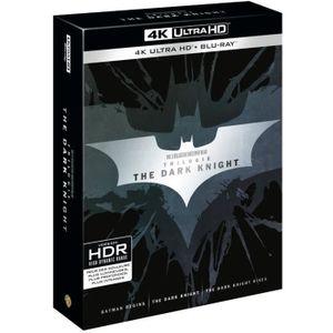 DVD SÉRIE Coffret Blu-ray 4K Trilogie The Dark Knight : Batm