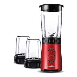 MOULINEX LM133510 - Mix & Drink mini blender + hachoir et moulin ? épices