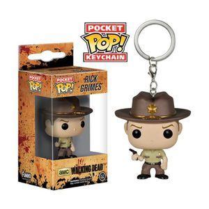 PORTE-CLÉS Porte-clé Funko Pocket Pop! The Walking Dead : Ric