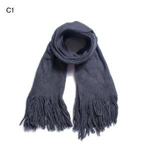 Echarpe//etole homme-femme 20/% laine  176 X 60 cm Rouge