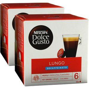CAFÉ CD-439Nescafé Dolce Gusto Caffè Lungo Decaffeinato