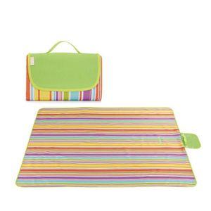 TAPIS PIQUE NIQUE Tapis de pique-nique portable extérieur multicolor