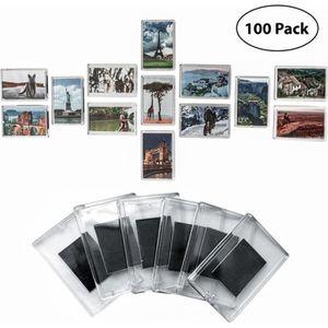 CADRE PHOTO Cadre Photo Magnétique (Lot de 100),  Porte Photo