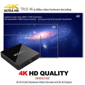 BOX MULTIMEDIA MX10 PRO Smart TV Box Android 7.1 4 Go / 32 Go RK3