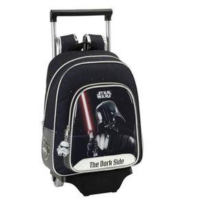 CARTABLE Sac à roulettes Star Wars Dark Vador 34 CM materne