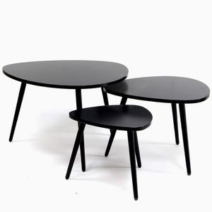 Table basse gigogne achat vente table basse gigogne pas cher cdiscount - 3 tables basses gigognes ...