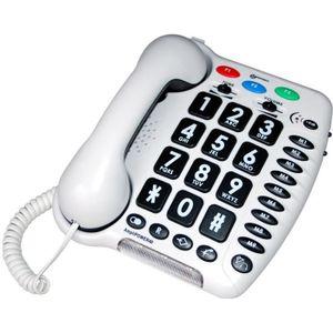 Téléphone fixe GEEMARC Téléphone fixe grosses touches sénior AMPL