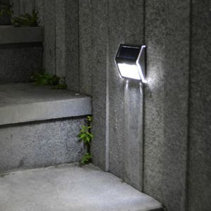 LAMPE DE JARDIN  2pcs LEDs Lumière Polycristallin Panneau Énergie s
