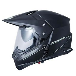 CASQUE MOTO SCOOTER CASQUE CROSS MT SYNCHRONY SV DUOSPORT SOLID DOUBLE