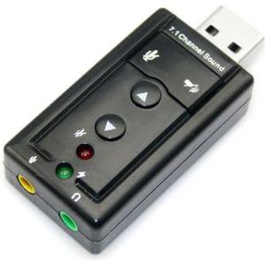 CARTE SON EXTERNE Carte son USB externe 7.1 Channel 3D Virtual Audio