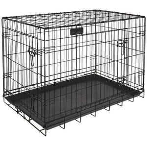 cage pour grand chien achat vente pas cher. Black Bedroom Furniture Sets. Home Design Ideas