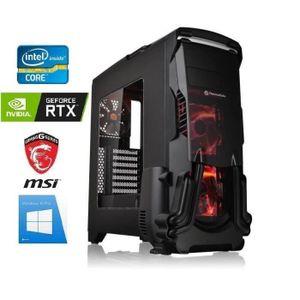 ORDINATEUR TOUT-EN-UN PC Gamer I7-9700K - RTX 2070 8GO - 16GO RAM - SSD