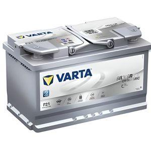 BATTERIE VÉHICULE VARTA Batterie Auto F21 (+ droite) 12V 80AH 800A