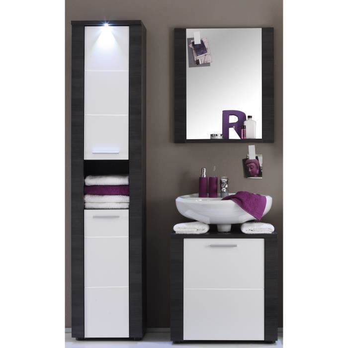 xpress ensemble salle de bain colonne et miroir achat vente ensemble meuble sdb xpress. Black Bedroom Furniture Sets. Home Design Ideas