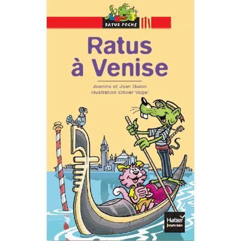 Livre 6-9 ANS Ratus à Venise