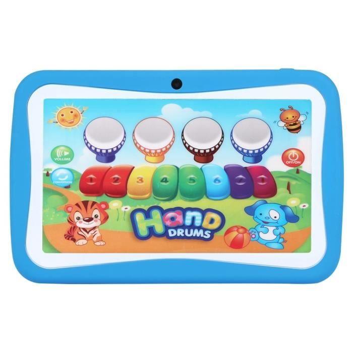 Tablette PC - Kids - Enfants - 8Go - Android 5.1 - Wifi - Bleu