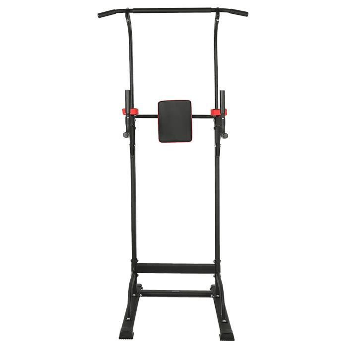 MixMest! Chaise Romaine Station Traction dips Multifonctions Barre de Traction dips Banc de Musculation Power Tower