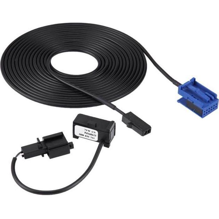 Bluetooth Microphone Faisceau Câble Kit pour 307 308 C4 C3 C5 RD45 Lecteur CD Peugeot