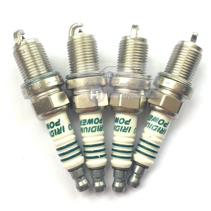 Kit de bougies d'allumage de voiture IK20, 4 pièces, en Iridium, japon, pour Toyota Audi, VW Volkswagen, 5304, IK20-5304 [925FC2C]