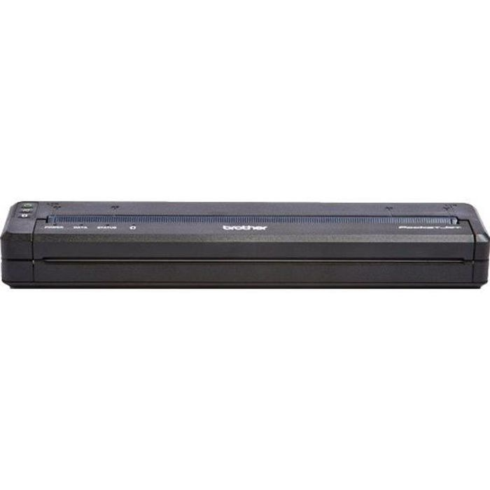 Brother PocketJet PJ-762 Imprimante monochrome papier thermique A4 203 x 200 dpi jusqu'à 8 ppm USB 2.0, Bluetooth 2.1 EDR