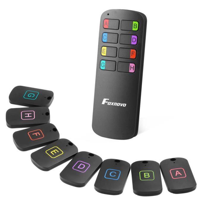 Lunettes portefeuille téléphone pour avec 8 récepteurs émetteur anti-perdu sans fil localisation - filature - tracage gps gps