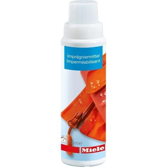 MIELE 10240510 - Imperméabilisant 250 ml pour vêtements-Effet hydrofuge,coupe vent et anti salissure-4 imperméabilisations