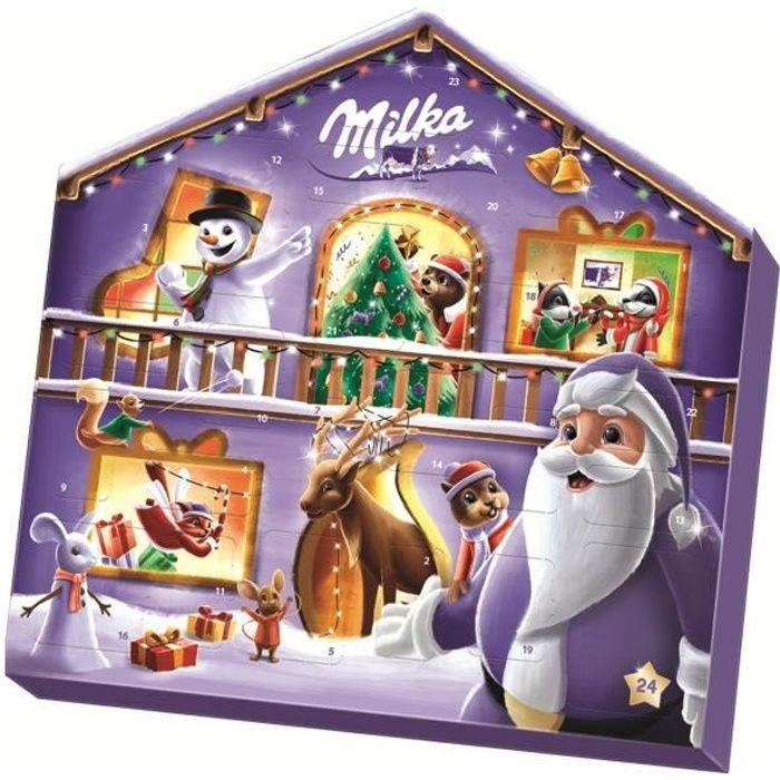 Calendrier de l'avent Noël MILKA