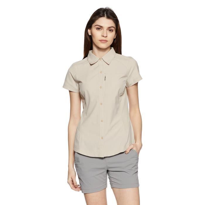 Blouson Technique COLUMBIA UG42L Silver Ridge à manches courtes T-shirt de la femme Taille-32