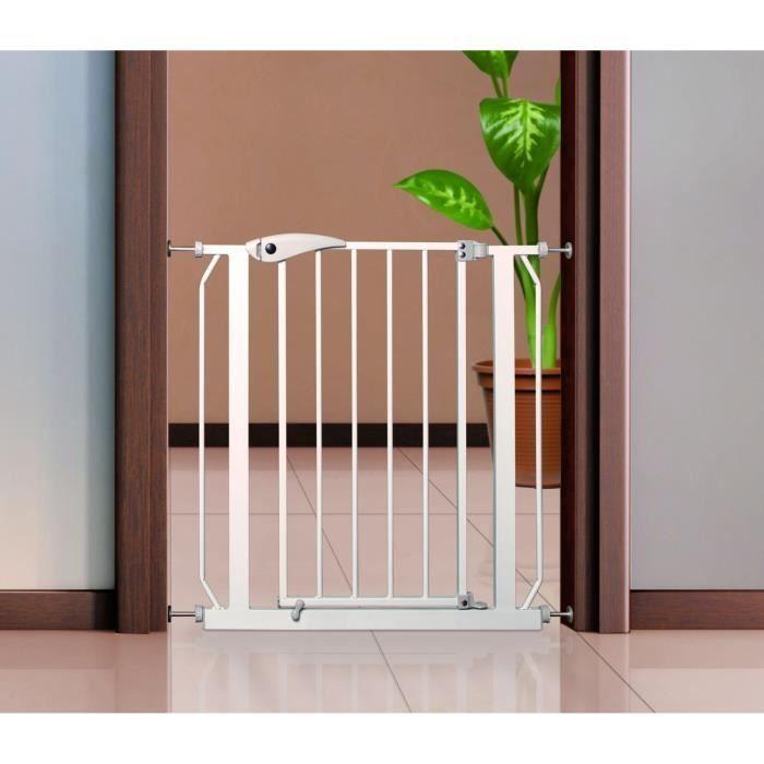 TRIXIE Barrière de sécurité en métal pour chien