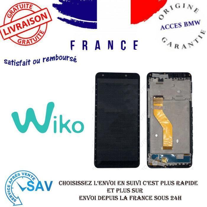 Originale Ecran LCD Complet Noir pour WIKO Y61 avec châssis