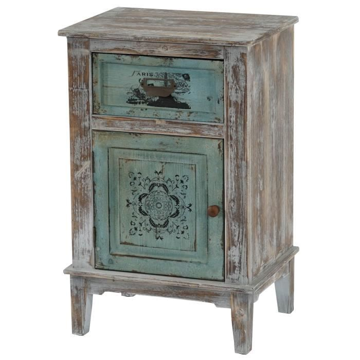 commode murcia armoire table d 39 appoint vintage shabby. Black Bedroom Furniture Sets. Home Design Ideas