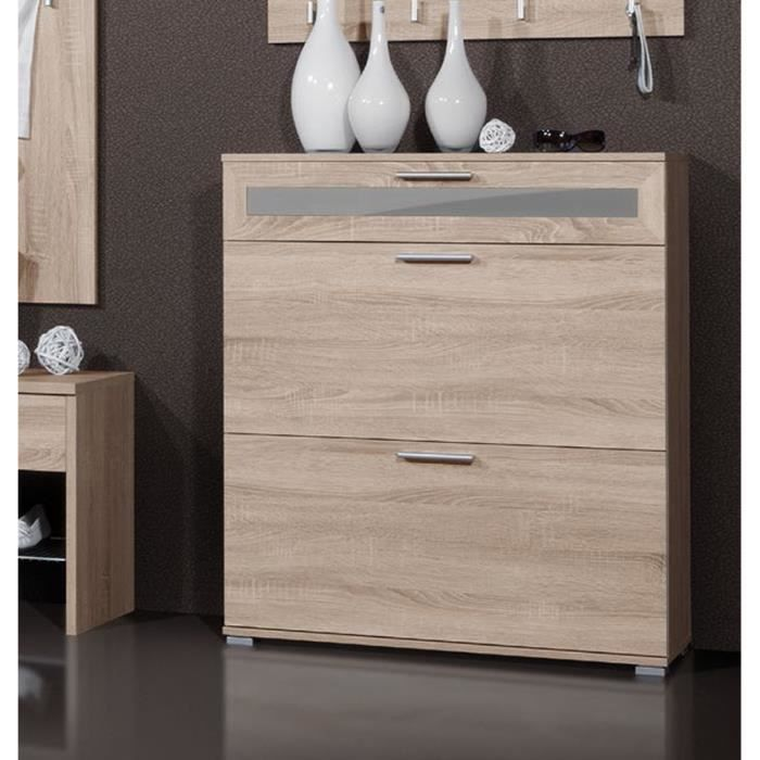 meuble chaussure chene maison design. Black Bedroom Furniture Sets. Home Design Ideas
