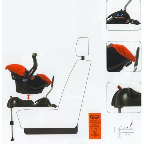 base isofix giordani achat vente embase si ge 8001444317510 cdiscount. Black Bedroom Furniture Sets. Home Design Ideas