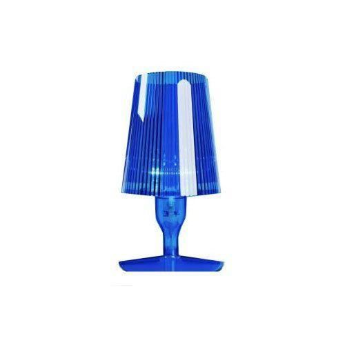 kartell 9050q5 lampe de chevet take bleu achat vente. Black Bedroom Furniture Sets. Home Design Ideas