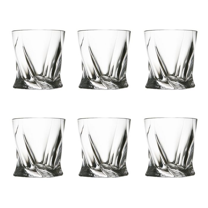 quadro lot de 6 verres whisky en cristal 400 m achat. Black Bedroom Furniture Sets. Home Design Ideas