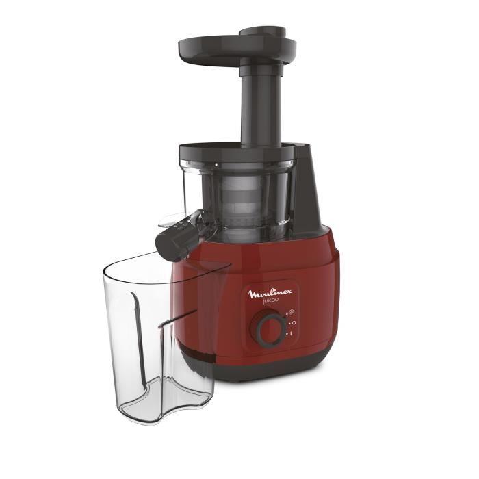 MOULINEX ZU150510 Extracteur de jus Juiceo - Rouge