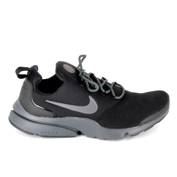 Basket mode - Sneakers NIKE Presto Fly Noir Gris 908019-008