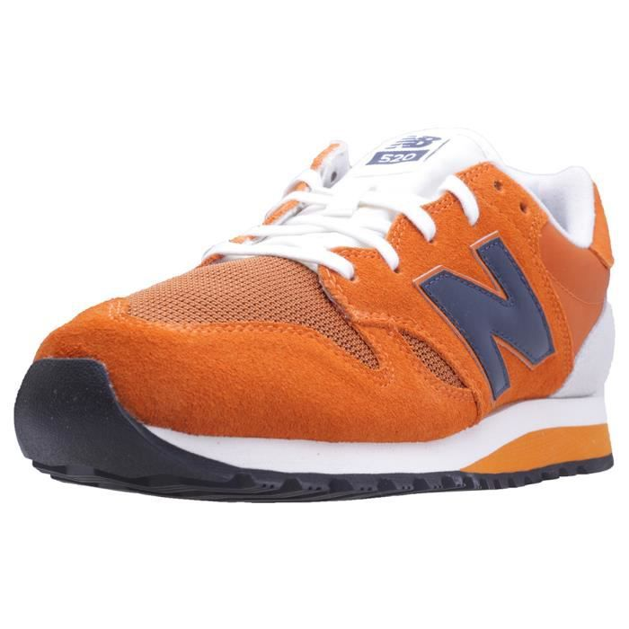 basket new balance bleu orange