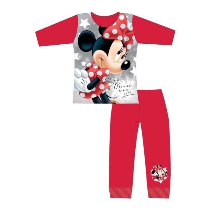 Minnie Mouse Ensemble de Dors Bien et Bonnet B/éb/é Fille Disney