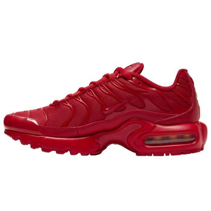 Nike Air Max TN Plus Chaussures de Course homme rouge Rouge rouge ...
