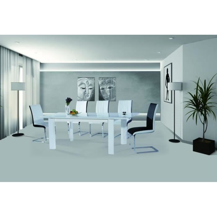 Table salle a manger extensible fly valdiz for Table salle a manger extensible fly